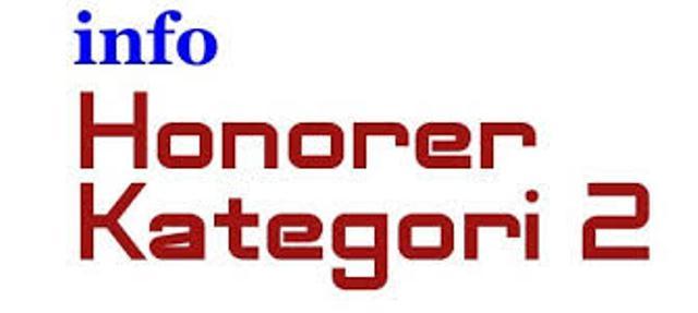 Daftar Tenaga Honorer Kategori II yang Lulus Seleksi CPNS Tahun Anggaran 2013