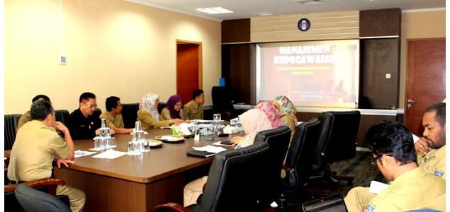 BKD Kota Depok Menerima Kunjungan Tim Penilaian BKD Award Provinsi Jawa Barat
