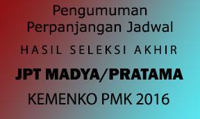 Pengumuman Seleksi Terbuka Pengisian Jabatan Pimpinan Tinggi (JPT) Madya/Pratama Kemenko PMK 2016