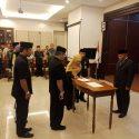 Pelantikan dan Pengambilan Sumpah/Janji Jabatan Administrator, Jabatan Pengawas dan Jabatan Fungsional di Lingkungan Pemerintah Kota Depok Tahun 2019