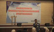 Kepala BKPSDM menghadiri Sosialisasi Kegiatan Pembiayaan Tenaga Kependidikan Honorer SMP Negeri