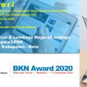 BKPSDM Kota Depok Terima Penghargaan BKN Award Tahun 2020