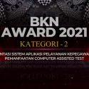BKPSDM Kota Depok Terima Penghargaan BKN Award Tahun 2021