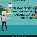 Pembukaan Pelatihan Calon Kepala Sekolah Pemerintah Kota Depok Tahun 2021