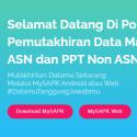 Pemutakhiran Data Mandiri (PDM) ASN Tahun 2021