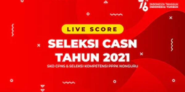 Live Streaming Skor Tes SKD Seleksi CPNS Kota Depok Tahun 2021
